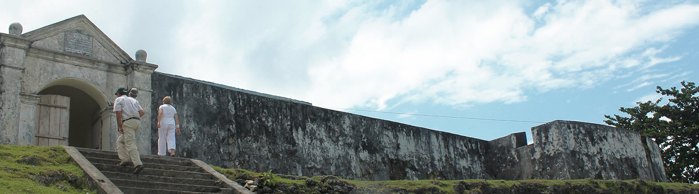Fortress of the South: Saparua & Banda island