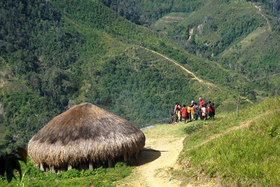 Trekking in Baliem Valley